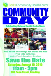 BCHC Save the Date 2015 Comm Days English