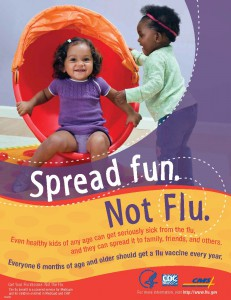 flu spread-fun-print